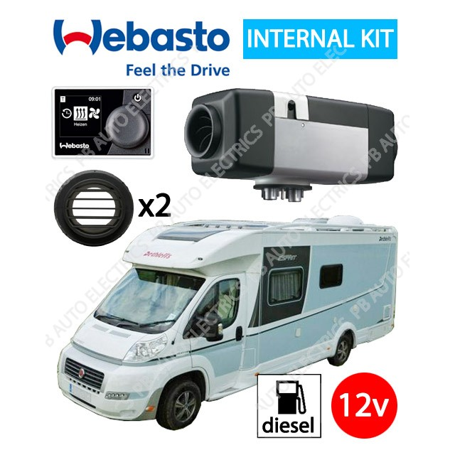 Webasto Air Top Evo Motorhome 9029235B-MC-2
