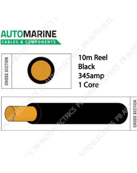 Auto Marine Cable BLACK-936