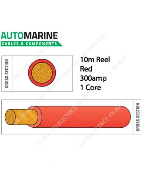 Auto Marine Cable RED-935