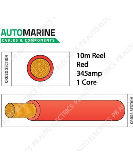 Auto Marine Cable RED-936