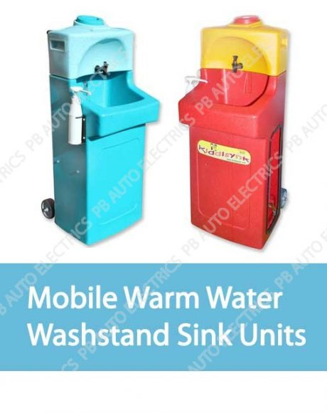 Mobile Warm Water Washstand Handwash Sink Units