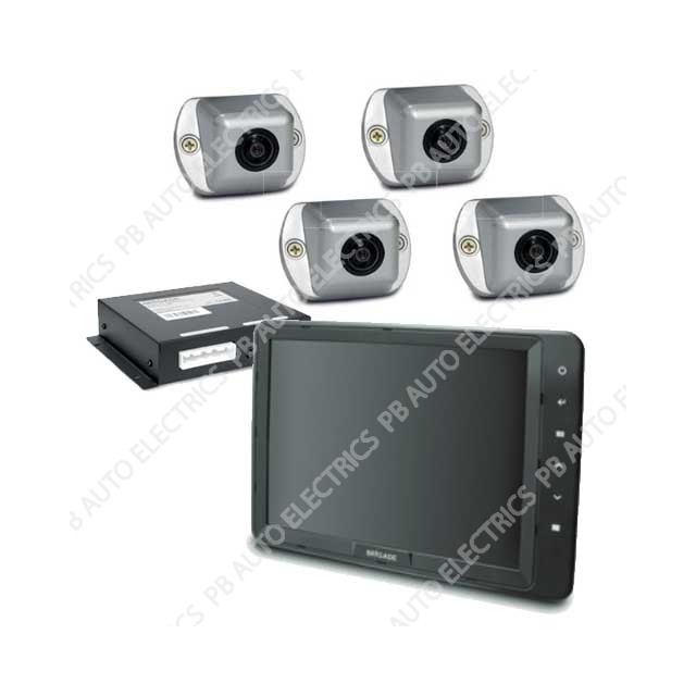 "Brigade Backeye 360 Select 10.4"" Camera Monitor System For Large Rigid Vehicles SE-7104F-100 (4618A)"