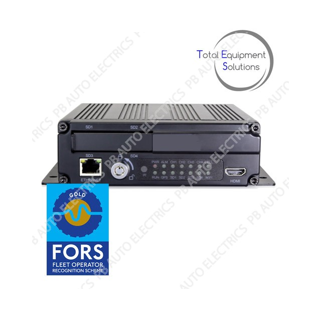 TES FORS Gold MDR 4 Channel AHD 1080P Input With GPS - TES-DV047376C*