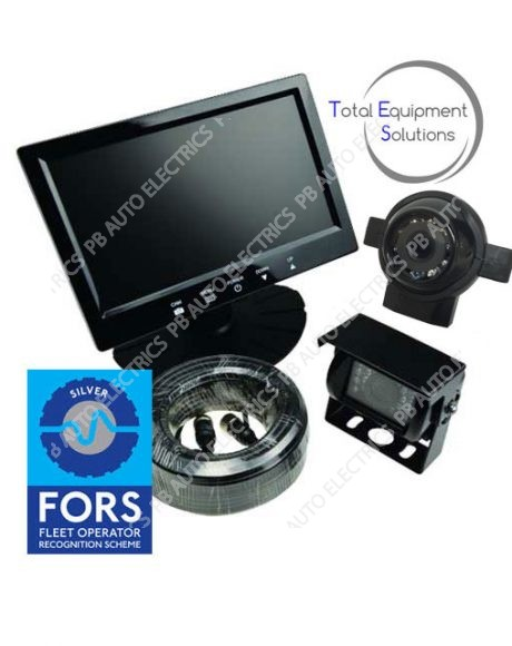 "TES FORS Silver 7"" Cyclist Detection & Warning System - Supply Only*"