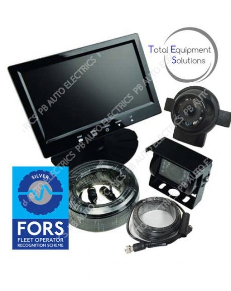 TES FORS Silver 7″ Cyclist Detection & Warning System – Supply Only*