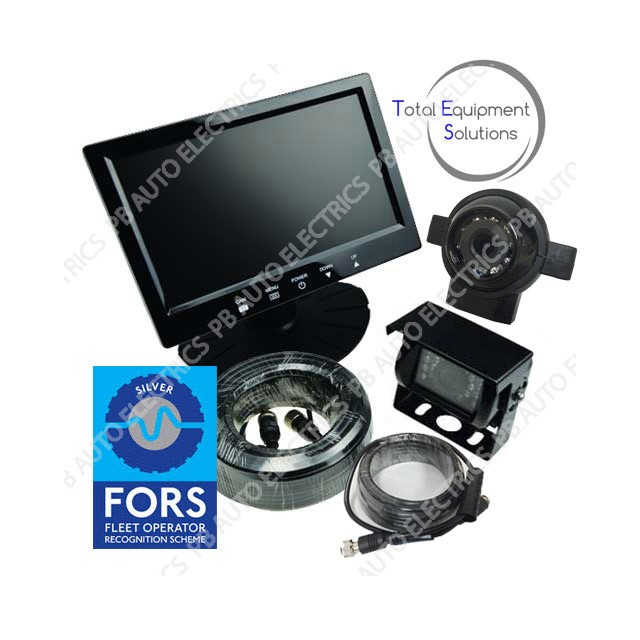 Tes Fors Silver 7 Monitor Twin Camera System Supply