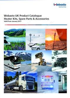 Webasto Product Catalogue