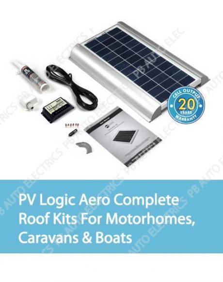Solar Technology PV Logic Aero Complete Roof Kits For Motorhomes, Caravans & Boats