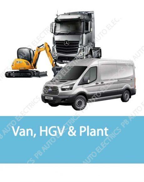 Van, HGV & Plant