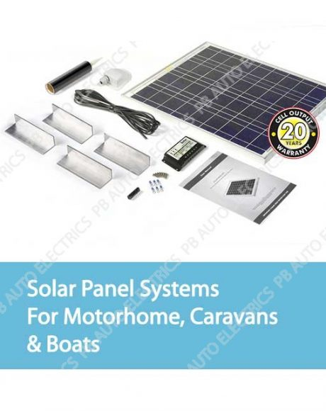 Solar Panel Systems For Motorhome, Caravans & Boats