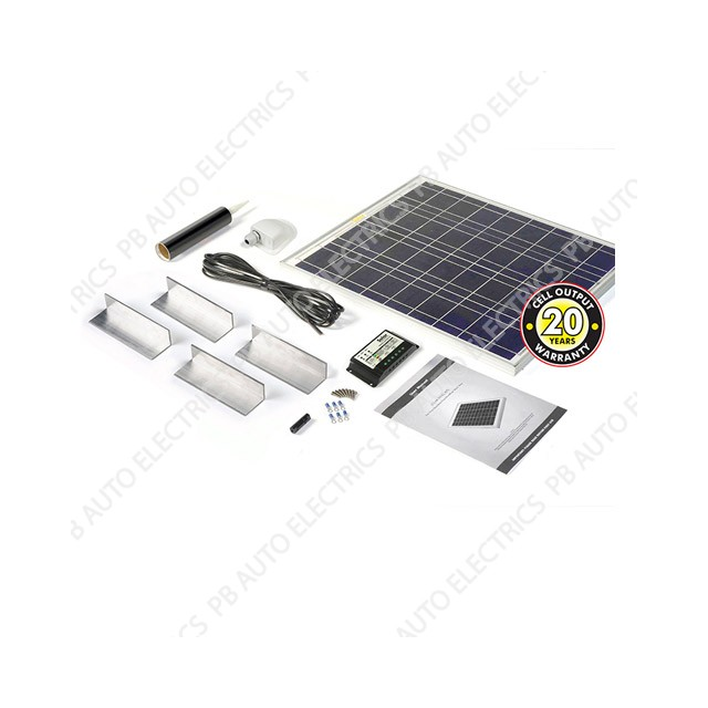 Solar Technology 45 Watt Solar Panel STANDARD Roof Top Kit For Motorhomes Caravans Boats - STPMH45