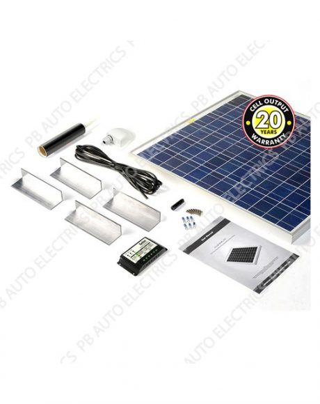 Solar Technology 60 Watt Solar Panel STANDARD Roof Top Kit For Motorhomes Caravans Boats - STPMH60