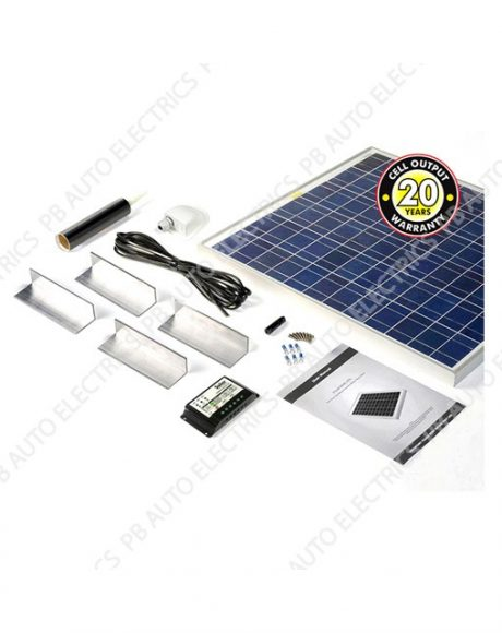 Solar Technology 80 Watt Solar Panel STANDARD Roof Top Kit For Motorhomes Caravans Boats - STPMH80