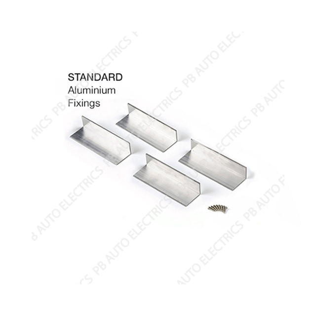 Solar technology standard alloy angle brackets