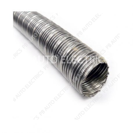 Webasto Heater 24mm Stainless Steel Flexible Exhaust (per meter) – 90394A