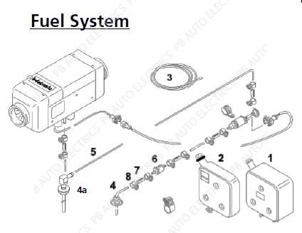 Webasto Air Top 2000 S/ST/STC Fuel System - PB Auto Electrics ... on