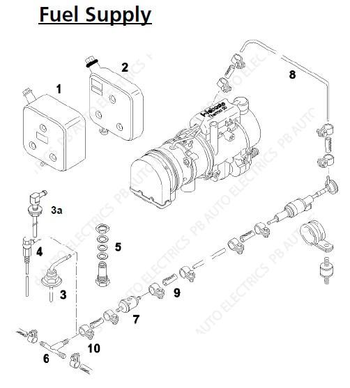 webasto thermo 90  s  st  u0026 pro 90 fuel system