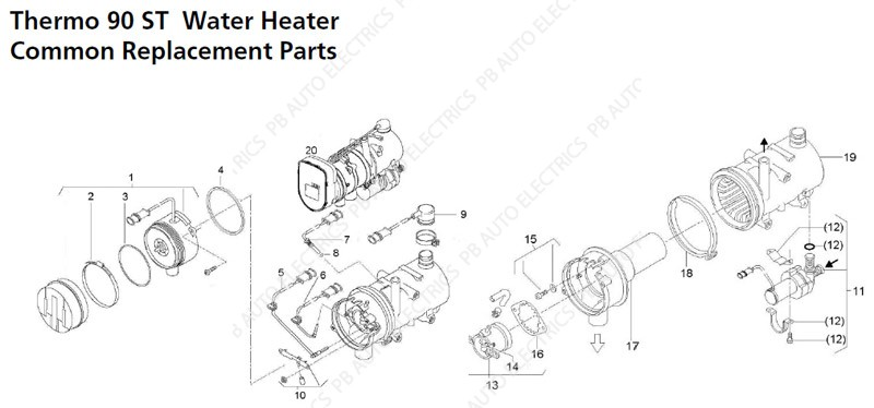 Webasto Sel Heater Wiring Diagram on