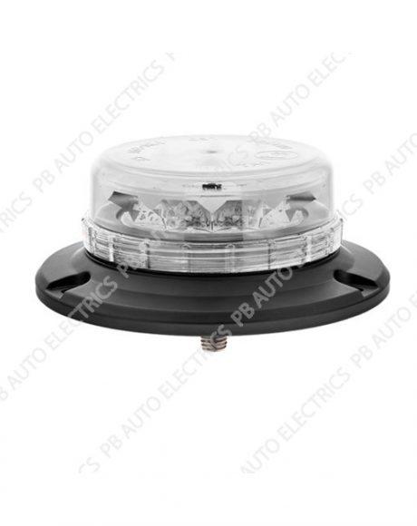 LAP LED Low Profile Clear Lens Beacon 1 Point 12/24v (ECE R65) - LPB060C