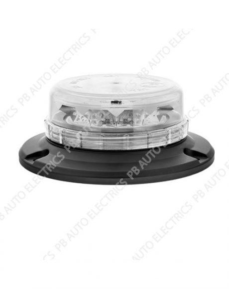 LAP LED Low Profile Clear Lens Beacon 3 Point 12/24v (ECE R65) - LPB050C