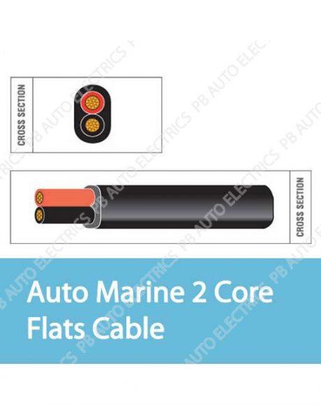 Auto Marine 2 Core Flats Cable