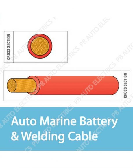 Auto Marine Battery And Welding Cable