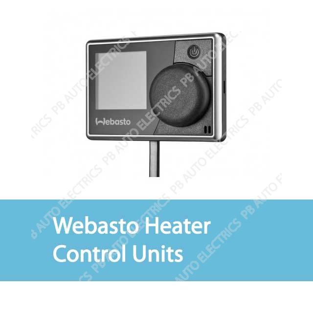 Webasto Control Units