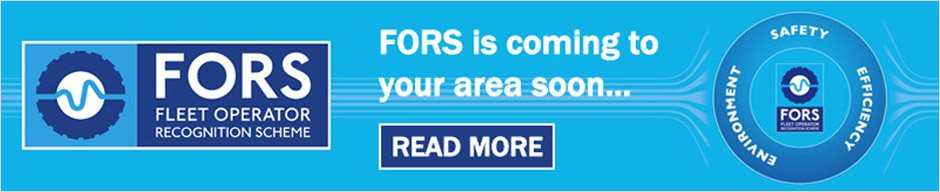 FORS is coming to your area small banner