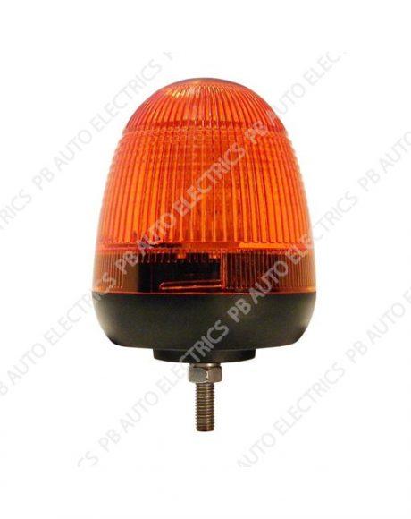 LAP Electrical LMB LED Amber Lens Beacon 1 Bolt 12/24v (ECE R10) - LMB060