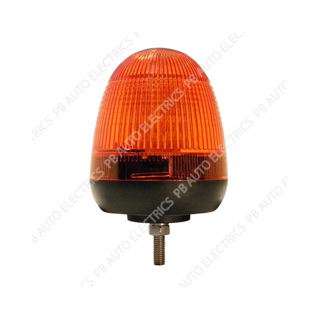 LAP Electrical LMB LED Amber Lens Beacon 1 Bolt 12/24v (ECE R10) - LMB060