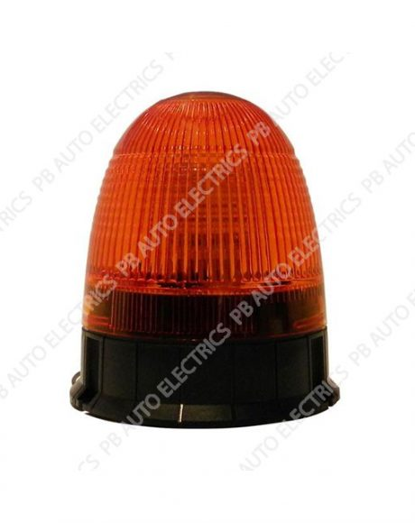 LAP Electrical LMB LED Amber Lens Beacon 3 Bolt 12/24v (ECE R10) - LMB050