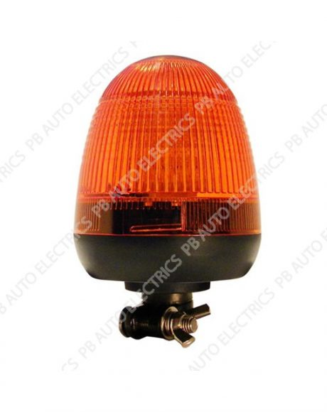 LAP Electrical LMB LED Amber Lens Beacon DIN 12/24v (ECE R10) - LMB030