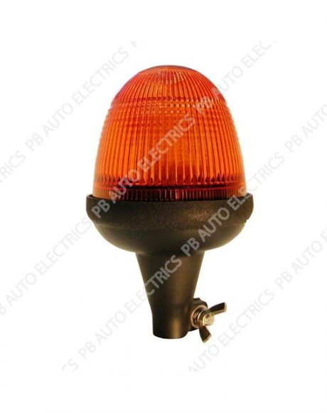 LAP Electrical LMB LED Amber Lens Beacon Flexi DIN 12/24v (ECE R10) - LMB040