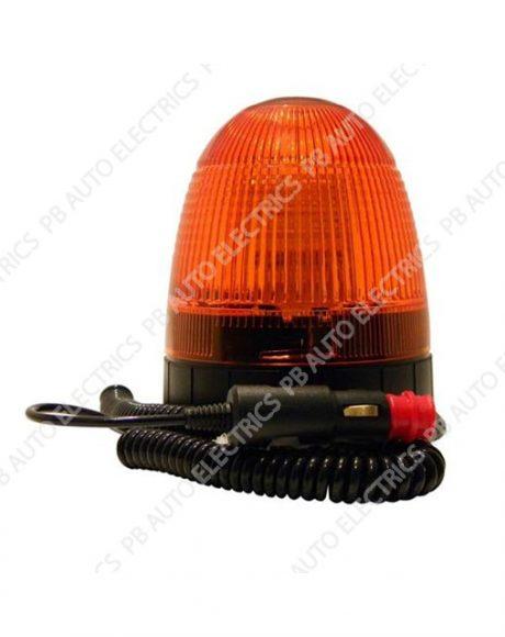 LAP Electrical LMB LED Amber Lens Beacon Magnetic Base 12/24v (ECE R10) - LMB020