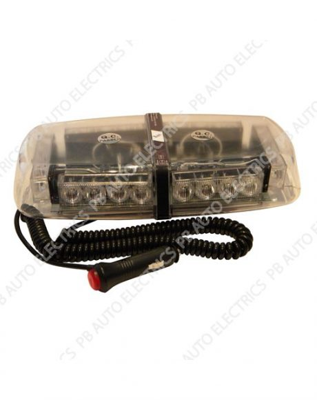 LAP Electrical Magnetic Mini LED Lightbar 12/24v - LAP1224MAG