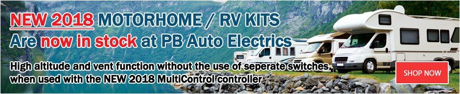 New 2018 Motorhome RV Heater Kits Small Banner