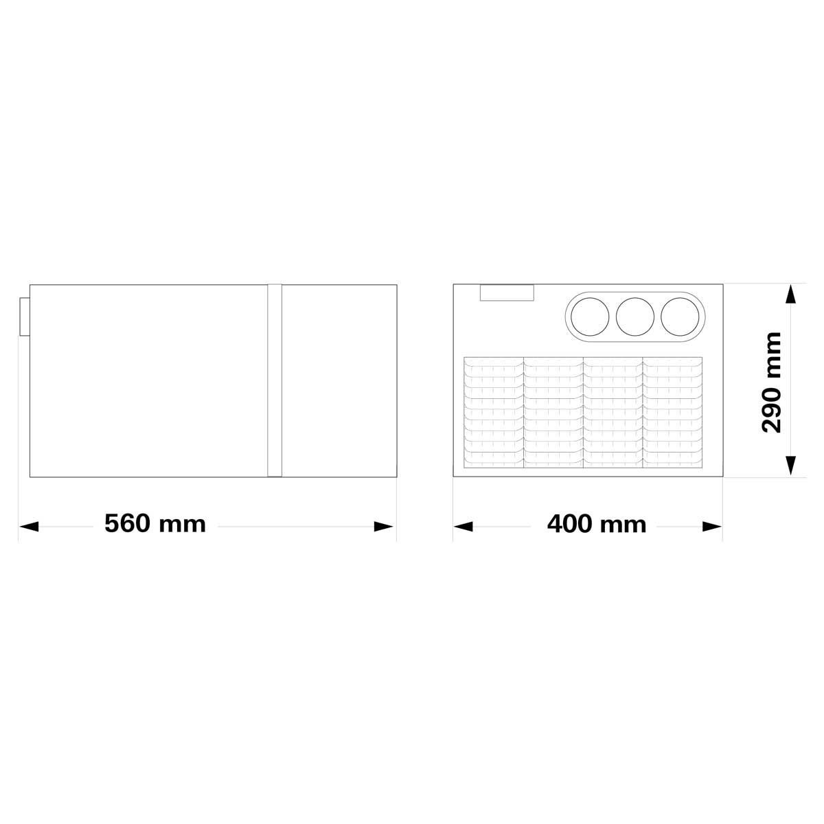 Truma Saphir Compact Air Conditioning Storage Box System Up to 5.5m Long Large