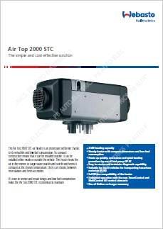 Webasto Air Top Datasheet PDF