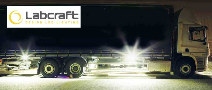 Labcraft Banksman LED Manoeuvring Lighting System For Commercial Vehicles