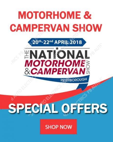 National Motorhome & Campervan Show 2018 Offers