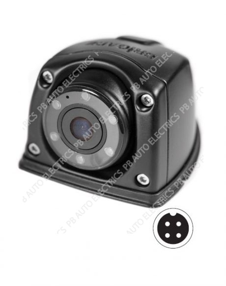 Brigade Select VBV-320C Compact Flush Mount Eyeball Camera (Suitable side/front use) - Normal View (5215)