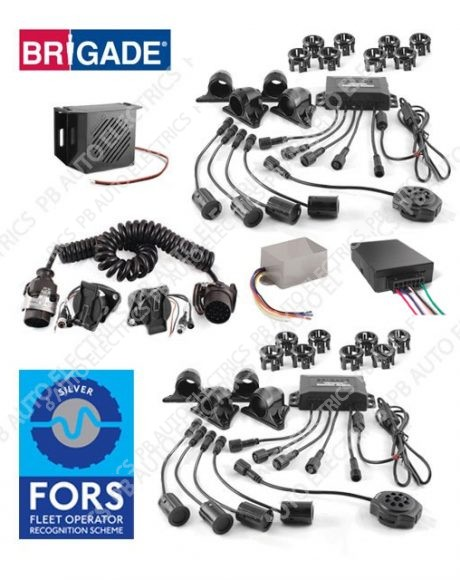 FORS Silver Sidescan Crossrail Cyclist Detection & Warning System (Tractor and Trailer) - Supply Only