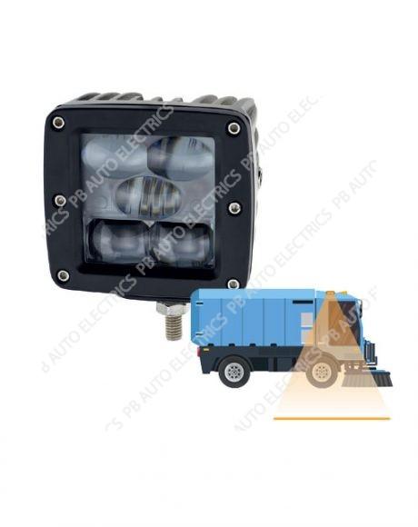 LAP Electrical Road Sweeper & Related Applications Amber LED Safety Line Light 12v-24v - FKL15A-L