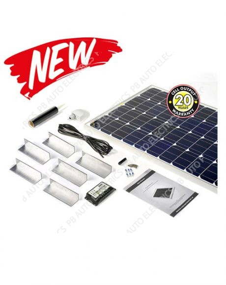 Solar Technology 200 Watt Solar Panel STANDARD Roof Top Kit For Motorhomes Caravans Boats - STPMH200