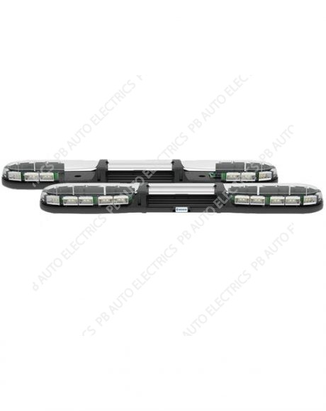 13 Series ECE R65 1000mm LED Amber Lightbar (Clear Lens) 16 LEDs 12-24v – 13-00012-E