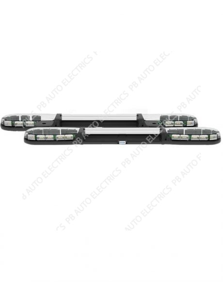 13 Series ECE R65 1250mm LED Amber Lightbar (Clear Lens) 24 LEDs 12-24v – 13-00006-E
