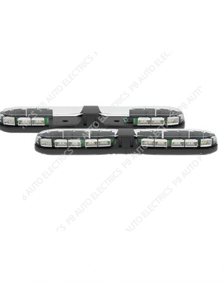 13 Series ECE R65 770mm LED Amber Lightbar (Clear Lens) 24 LEDs 12-24v - 13-00002-E