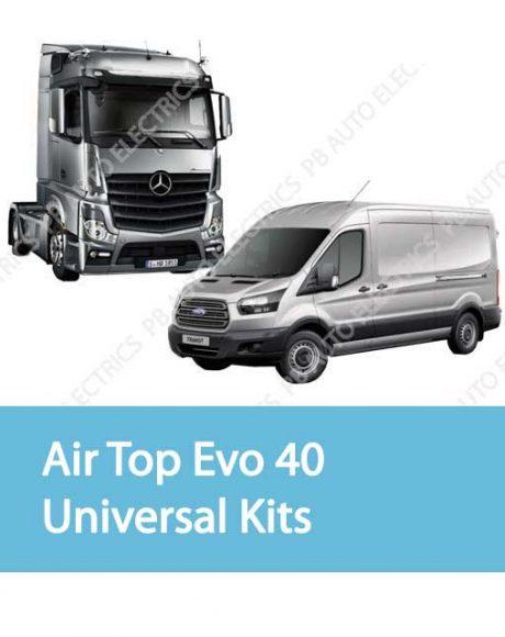 Webasto Air Top Evo 40 Universal Heater Kits