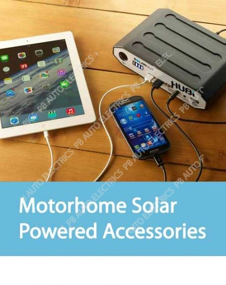 Motorhome Solar Powered Accessories