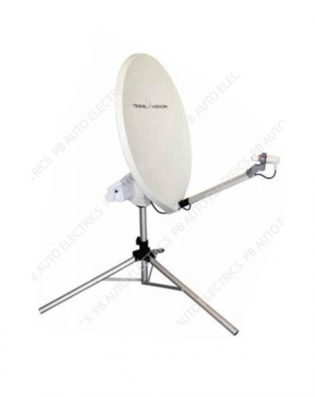 Travel Vision R7-80cm Automatic Portable Satellite Antenna System - 35-01-032-0